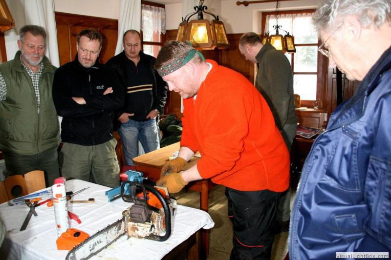 Motorsägenkurs Instandhaltung - Guido Sprenger Forstservice
