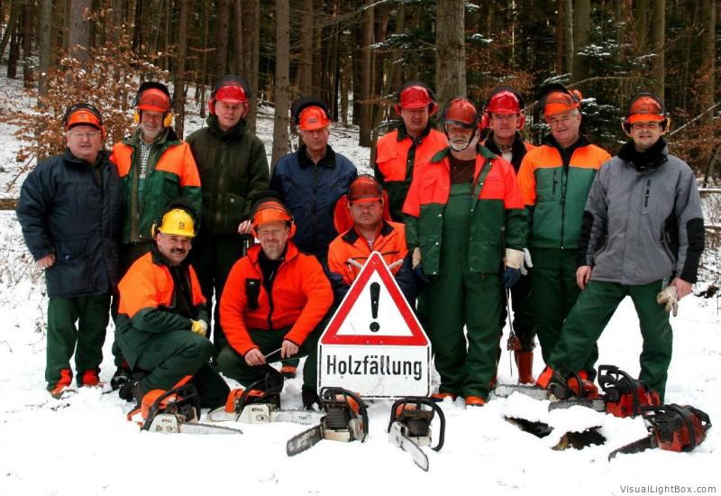 Motorsägenkurs Teilnehmer - Guido Sprenger Forstservice