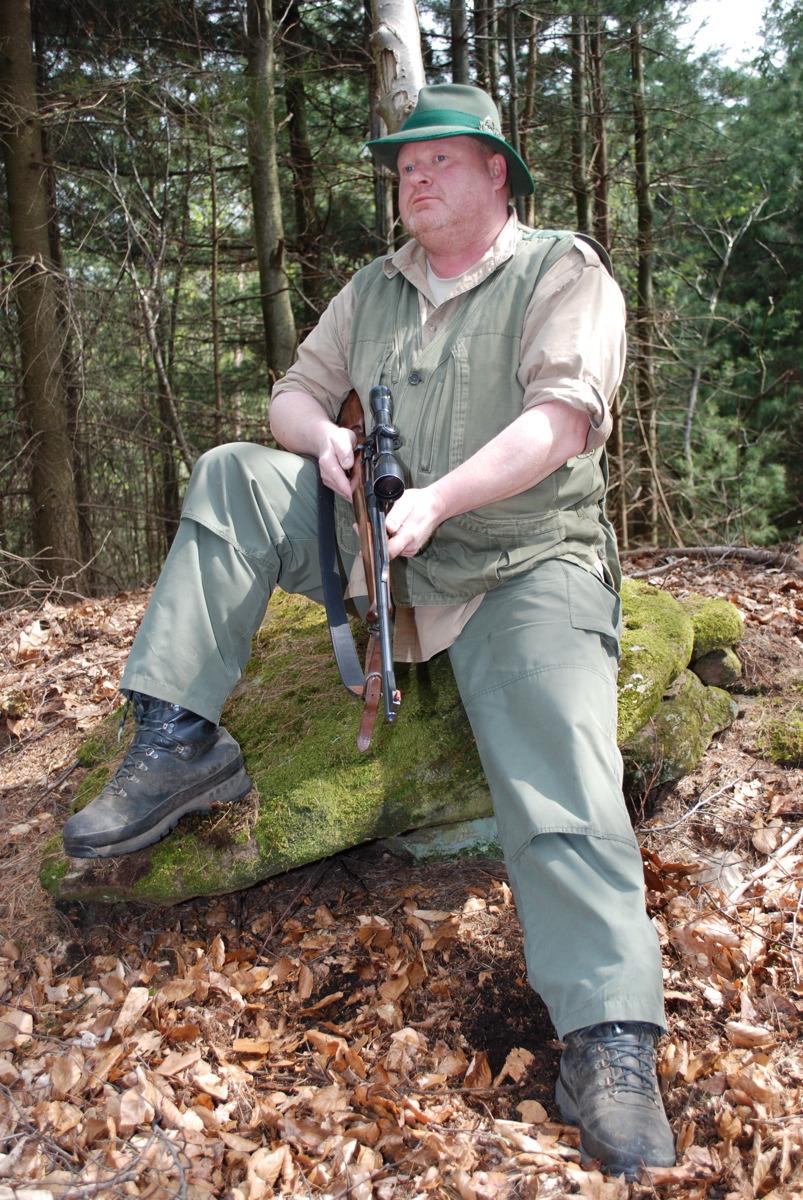 Jäger Portrait - Guido Sprenger Forstservice
